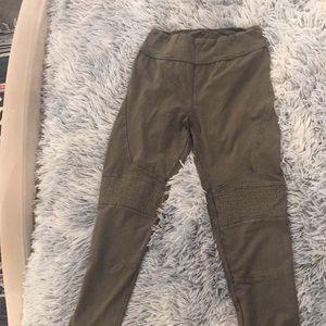 Nordstrom's army green leggings